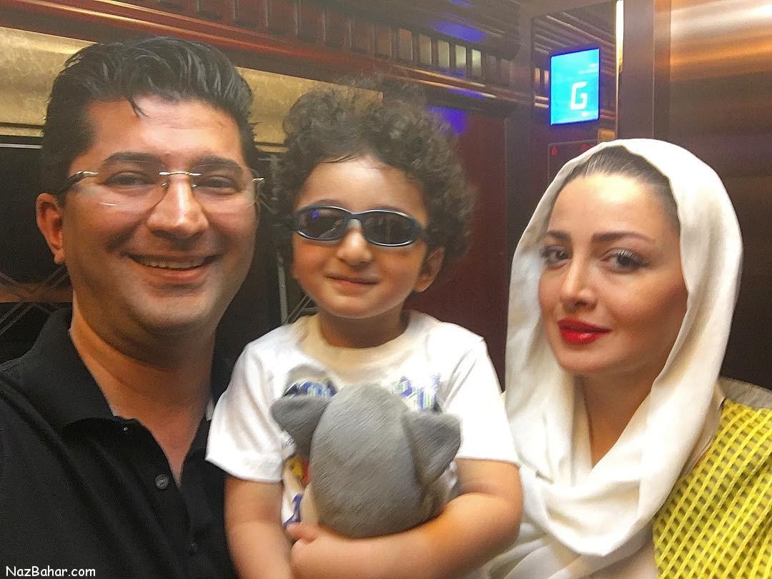 عکس های شیلا خداداد در کنار همسر و پسرش