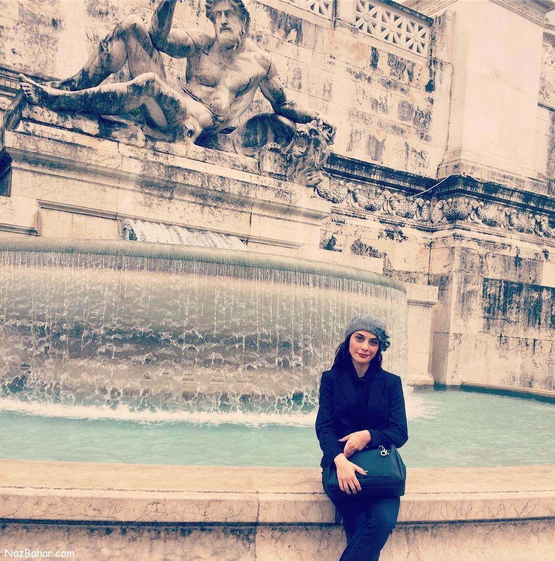 عکسهای جدید و دیدنی مارال فرجاد (خارج کشور)