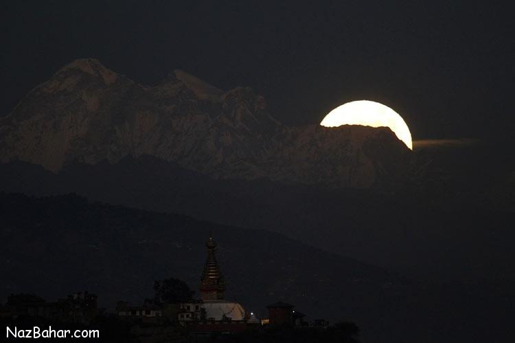 تصاویری از ابرماه روز 14 نوامبر از گوشه و کنار دنیا