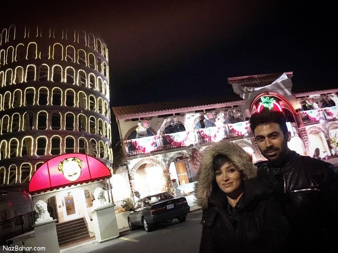 عکس هایی زیبا و جدید از روناک یونسی در خارج از کشور
