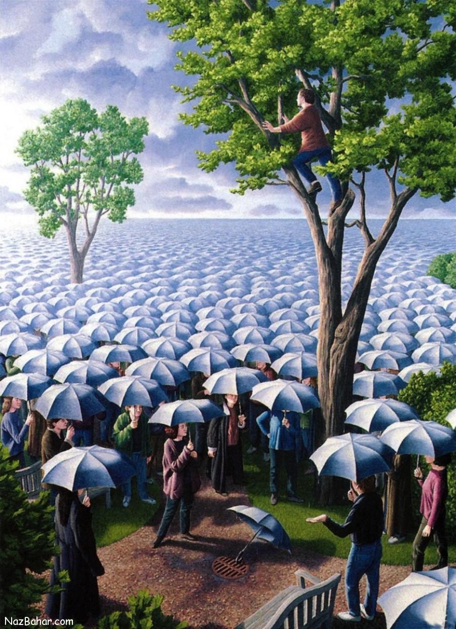 نقاشی های دیدنی و زیبای هنرمند کانادایی