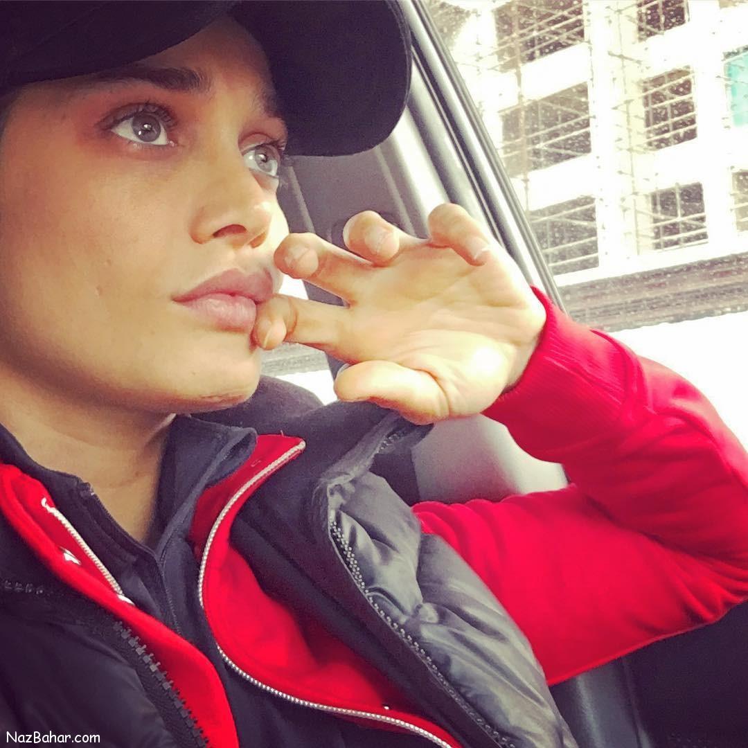 عکسهای جدید و زیبای تینا آخوندتبار در صفحه شخصی اینستاگرامش