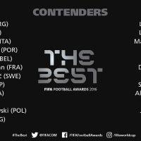 نامزدهای بهترین بازیکن فوتبال جهان