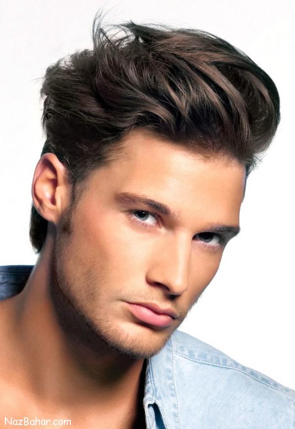 مدل مو جدید جذاب و زیبای پسرانه