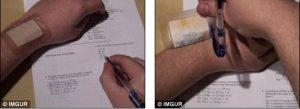 عکسهایی جالب و خنده دار از تقلب در امتحان