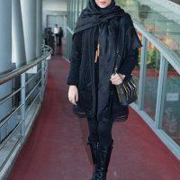 تصاویر مدل مانتو پریناز ایزدیار و نیکی مظفری در جشنواره فجر ۹۵