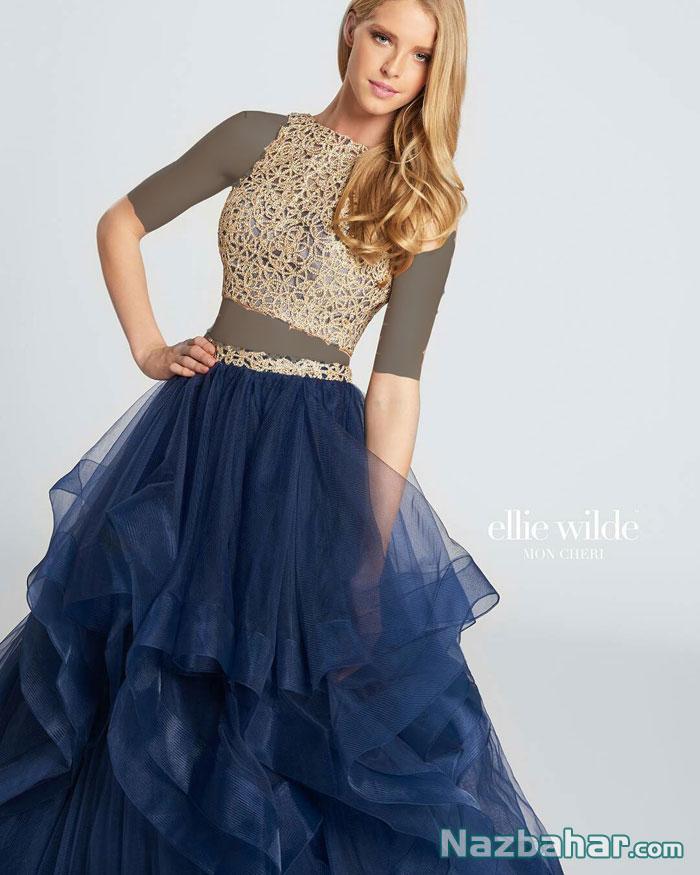 مدل لباس مجلسی و لباس شب زنانه و دخترانه, لباس شب اروپایی