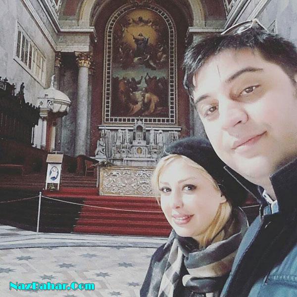 عکسهای جدید نیوشا ضیغمی با همسر و همکاران خود