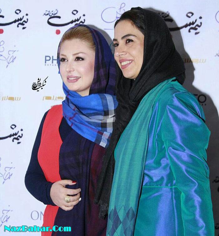 عکسهای جدید نیوشا ضیغمی با همسرش, نیوشا ضیغمی و پریناز ایزدیار