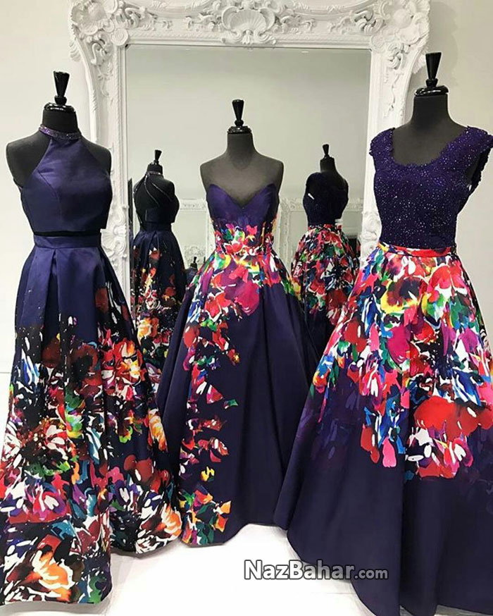 مجموعه عکس مدل لباس شب مجلسی زنانه و دخترانه 2017